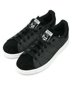 adidas Originals(アディダス オリジナルス)のオリジナルス スタンスミス[STANSMITH](スニーカー) ブラック×ホワイト Men's Shoes, Shoes Sneakers, Adidas Originals, Kicks, Street Wear, Vans, Mens Fashion, My Style, How To Wear
