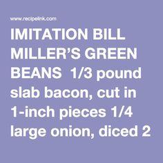 IMITATION BILL MILLE