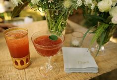 Gold accents and delicious libations - luxury bar on Maui - Garnish - Anna Kim Photography