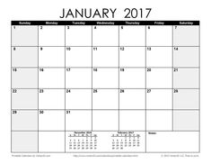 10 best 2017 calendar printable free images on pinterest project