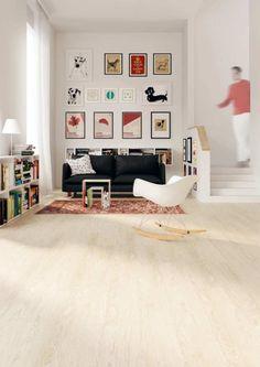 Bodenbelag - Naturboden im Wohnzimmer