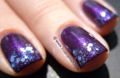 Love. Varnish, chocolate and more...: Nicole by OPI Here We Kome A-Karoling & WingDust Collections Fairy Blind
