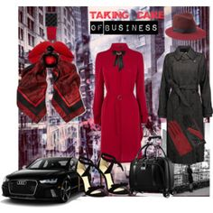 Red Dress-Taking Care of Business