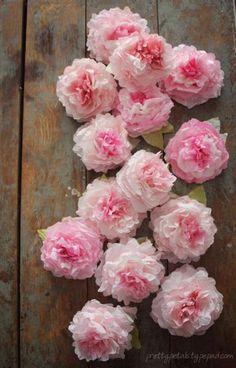 Rosas de Seda Passo a Passo