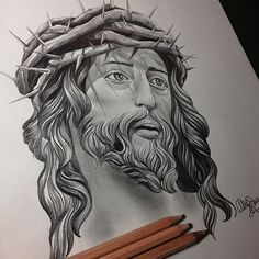 Bamboo Tattoo Studio - Toronto's Luxury Studio Jesus Christ Drawing, Jesus Drawings, Jesus Art, Tattoo Drawings, Tattoo Sketches, Harry Tattoos, Mom Tattoos, Body Art Tattoos, Jesus Tattoo Design