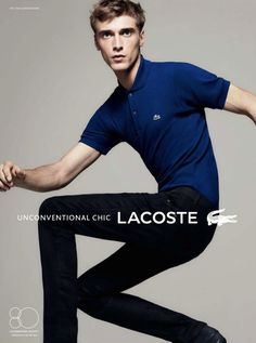 Clément Chabernaud is Unconventional Chic for Lacostes Spring/Summer 2013 Campaign