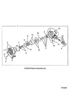 (eBay Advertisement) Polaris ASMSEAT BACK BLK T.SLV WHT