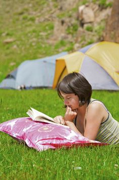 Summer activities to do with your BFFs Camp out in the backyard! It's a totally fun way to get the experience of camping without a ton of work - and minimal risk of bears!