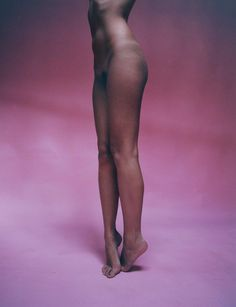Tyrone Lebon and Julia Sarr-Jamois shoot street cast nudes for The Beautiful Issue.