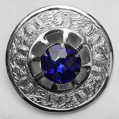 Sapphire Stone Brooches | Plaid Brooches