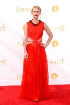 Claire Danes in Givenchy at the 2014 Emmys