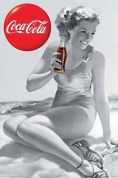 Coke on the beach. Double favorite!