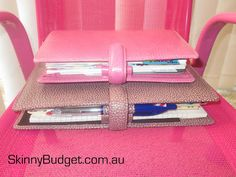Skinny Budget: A5 Filofax or Personal Size?