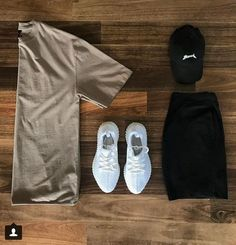 casual for men Dope Outfits For Guys, Swag Outfits Men, Stylish Mens Outfits, Casual Outfits, Men Casual, Hype Clothing, Mens Clothing Styles, Yeezy Fashion, Outfit Grid