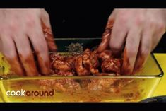 Mexican chicken wings – World Food Meat Recipes, Mexican Food Recipes, Chimichanga, Mexican Chicken, Tacos, Food For A Crowd, Antipasto, Tex Mex, International Recipes