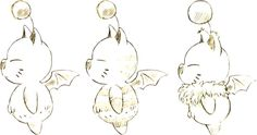 Moogle Sketches ★ || CHARACTER DESIGN REFERENCES (www.facebook.com/CharacterDesignReferences & pinterest.com/characterdesigh) • Love Character Design? Join the Character Design Challenge (link→ www.facebook.com/groups/CharacterDesignChallenge) Share your unique vision of a theme every month, promote your art and make new friends in a community of over 20.000 artists! || ★
