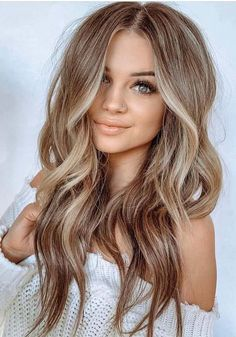 Brunette To Blonde Balayage Using Babylights – Brünette bis blond balayage using babylights This. Ombre Hair Color, Hair Color Balayage, Balayage Hairstyle, Blonde Color, Babylights Blonde, Best Hair Color, Balayage Brunette To Blonde, Ash Blonde, Pretty Hair Color