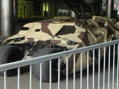A Tumbler from the Dark Knight Rises filming in Pittsburgh