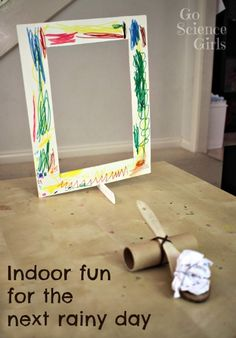 Indoor science fun with DIY catapult and projectiles