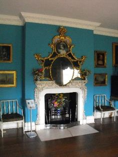 Interiors - Picture of Osterley Park and House, Isleworth - Tripadvisor Historic Architecture, Historic Houses, Classical Architecture, Architecture Plan, Interior Architecture, Georgette Heyer, Hall House, Wall Galleries, English Manor Houses