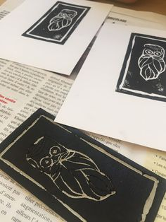 linogravure Nelia illustration Turntable, Music Instruments, Illustration, Lino Prints, Objects, Cards, Record Player, Musical Instruments, Illustrations