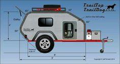 """TrailTop"" modular trailer topper building components - Page 67 - Expedition Portal Off Road Camper Trailer, Camper Caravan, Truck Camper, Camper Trailers, Rv Campers, Travel Trailers, Expedition Trailer, Overland Trailer, Teardrop Trailer Plans"