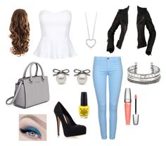 """""""Casual or Formal?-Top"""" by meg-marshall on Polyvore"""