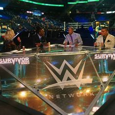 Survivor Series 2015 Kickoff Panel.