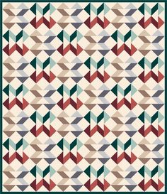 Tangled Twist designed by Robert Kaufman Fabrics. Features Kona Cotton. Two color stories. FREE pattern will be available to download from robertkaufman.com in March 2016. #FREEatrobertkaufmandotcom #konacotton
