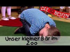 Unser kleiner Bär im Zoo - Singen, Tanzen und Bewegen    Kinderlieder - YouTube