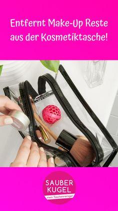 Du möchtest, dass deine Kosmetiktasche sauber bleibt? 🌸 Dann ist die Sauberkugel die Lösung! 💗 #sauberkugel #handtasche #tasche #taschenliebe #musthave #frauenthema #mädchenkram #geschenk #geschenkidee #lifehack #hack #taschenreiniger #handtaschenreiniger Kugel, Christmas 2019, Presents, Make Up, Beauty, Ideas, Handbags, Gifts, Makeup