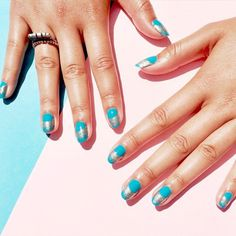cool Summer's here w/ @whitneygnails + @essiepolish! #nails...