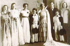 Fiesta de la Primavera en Chillan. Chile. 1937