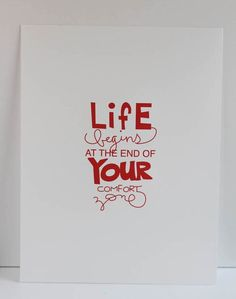 life begins...  print by MothballCharlie on Etsy