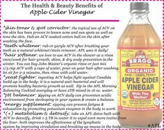 The Many Beauty and Health Benefits of Apple Cider Vinegar — Ashley Pettit Living