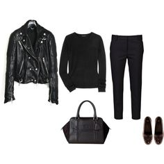 A fashion look from November 2014 featuring Theory sweaters, Burberry jackets and 3.1 Phillip Lim pants.
