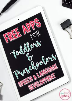 Free Apps for Toddle