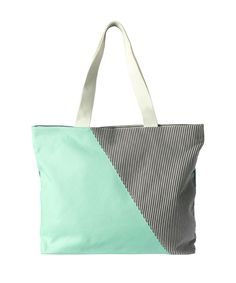 ee05265f6734 Ricki s  colour block canvas tote