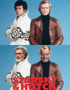 Famous Pairs, Paul Michael Glaser, David Soul, Neon Noir, Starsky & Hutch, Celebrities Then And Now, Old Shows, Kids Tv, Star Pictures