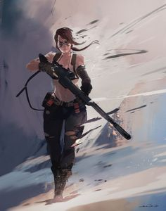 "spassundspiele: "" Quiet – Metal Gear Solid V: The Phantom Pain fan art by Colin Tan "" Metal Gear Solid Quiet, Metal Gear Solid Series, Video Game Art, Video Games, Metal Gear Games, Character Art, Character Design, Character Ideas, Mgs V"
