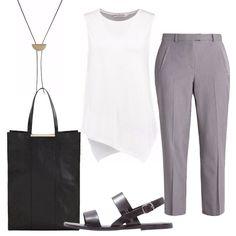 Minimalismo  outfit donna Everyday per ufficio e serata casual 5a88805ae63