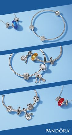 Head back to school in style with must-haves from PANDORA. Show off your school pride and your favorite extracurriculars with hand-finished sterling silver jewelry.