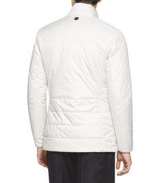 ZZEGNAManteaux et blousons:         De couleur ivoire et agrémentée de fermetures Éclair et de boutons-pression de couleur foncée contrastante, cette veste se distingue par so
