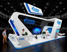 Exhibition stand,Gazprom