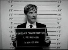 Benedict Cumberbatch - life ruiner <--But a beautiful, beautiful life ruiner... ;)