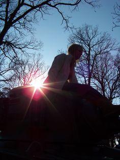 The tanks at Cantigny Park. Wheaton, IL. Rachel Jay