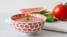 Cold watermelon and tomato soup - LifeGate