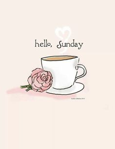 Good Morning and Happy Lazy Day ☕️