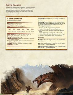 """probablyadrpgideas: """"Here is the Rekindled edition of the Great Dragon Bestiary I made early on in my career as a homebrewer and one of my favorites. Dungeons And Dragons Rules, Dungeons And Dragons Classes, Dnd Dragons, Dungeons And Dragons Homebrew, Monster Concept Art, Fantasy Monster, Fantasy Dragon, Fantasy Rpg, Fantasy Creatures"""