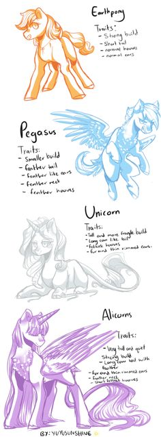 Pony Traits Study by yuyusunshine on DeviantArt My Little Pony Drawing, Mlp My Little Pony, My Little Pony Friendship, Drawing Base, Drawing Tips, Drawing Reference, Rainbow Dash, Imagenes My Little Pony, Mlp Fan Art